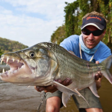 Tigerfish, Tanzania, Aardvark McLeod, fishing for tigerfish
