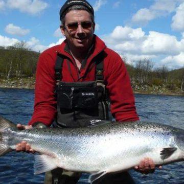 Varzina, Kola Peninsula, Russia, Aardvark McLeod, salmon fishing, salmon,
