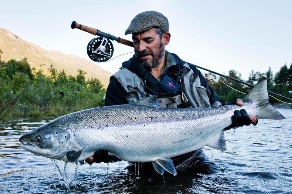 Reisa River, Norway, Atlantic salmon fishing, Aardvark McLeod