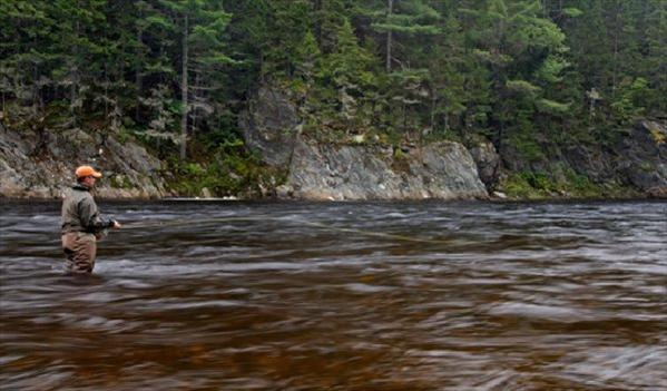 Upper Oxbow, Miramichi, East Coast Canada, Aardvark McLeod, Atlantic salmon, fishing in Canada