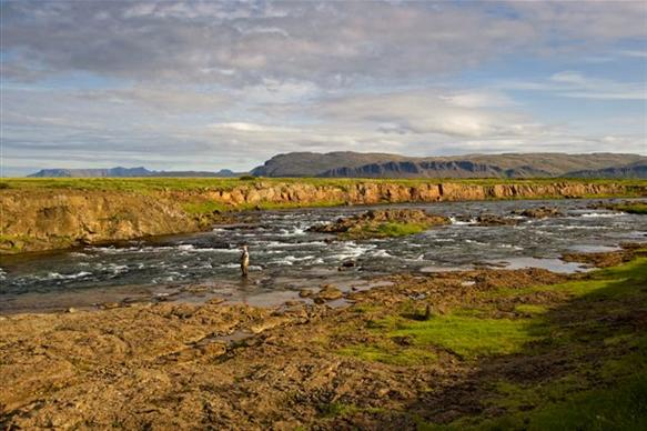 Langa, salmon fishing, Iceland, Iceland Guide, Aardvark McLeod,
