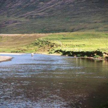 Salmon fishing, Laxa I Dolum, Iceland, Aardvark McLeod