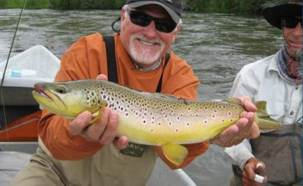 Madison Valley Ranch, Aardvark McLeod, trout fishing, brown trout
