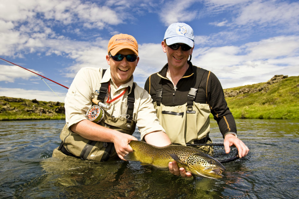 Myvatnssveit Brown Trout Fishing Iceland