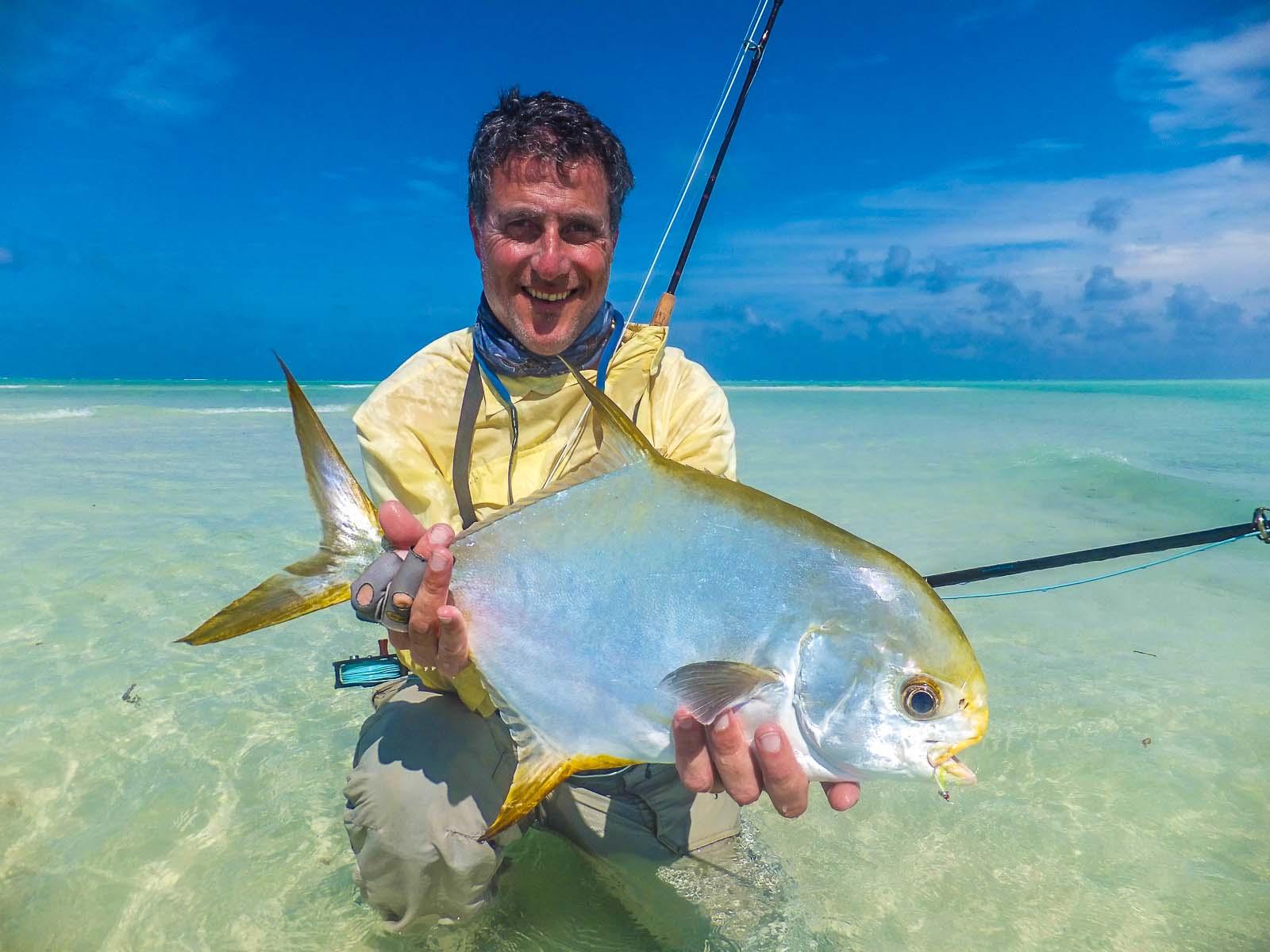 Alphonse island seychelles fishing report 3 11 january for Permit fly fishing