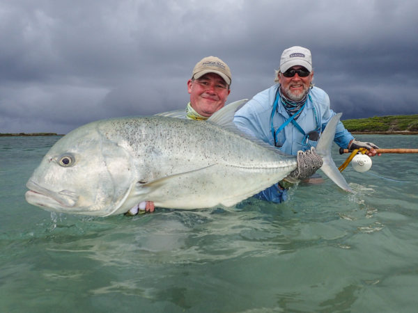 Astove Atoll, Seychelles, fishing, Aardvark McLeod, GT, giant trevally