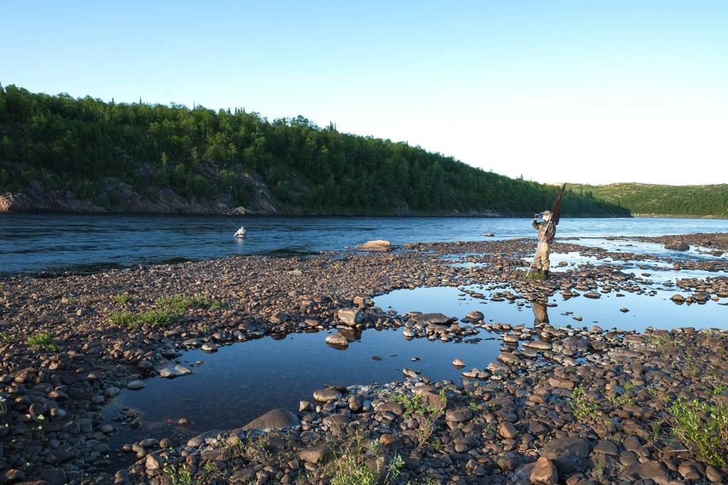 Ryabaga, Ponoi River, Russia, Aardvark McLeod, Atlantic salmon, salmon fishing, fishing in Russia,