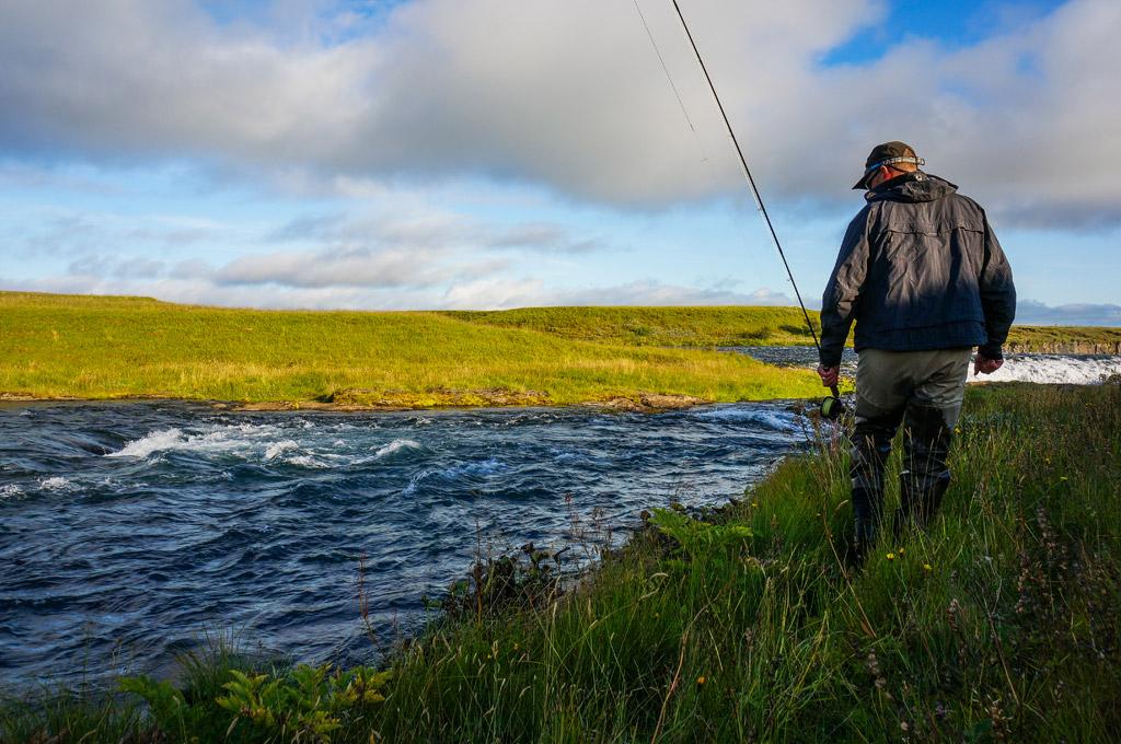 West Ranga, Icleland, salmon fishing, Iceland Fishing Guides, Aardvark McLeod,