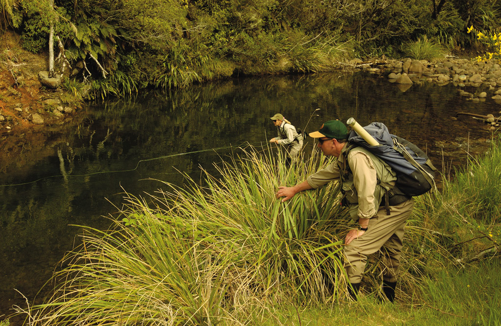 Tongariro Lodge, New Zealand, Aardvark McLeod, trout fishing, fishing in New Zealand