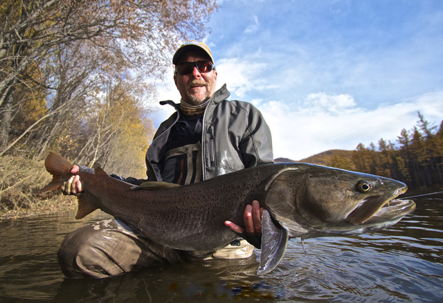 Support the taimen how you can help aardvark mcleod for Taimen fishing mongolia