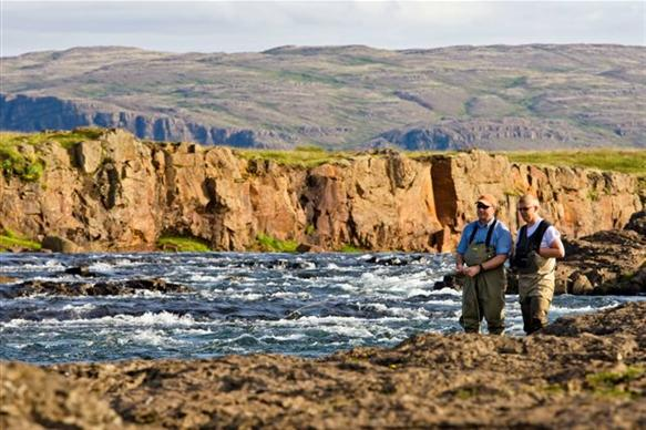 Salmon Fishing Iceland