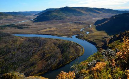 Onon River, Mongolia, taimen fishing, Aardvark McLeod