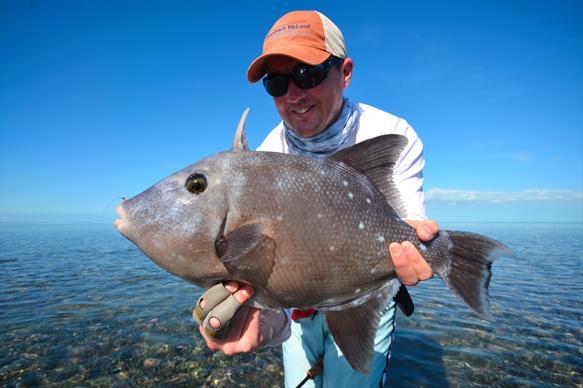 Crooked Island, Bahamas, fishing, Aardvark McLeod, permit, triggerfish, tarpon, barracuda, horseeye jacks, bonefish
