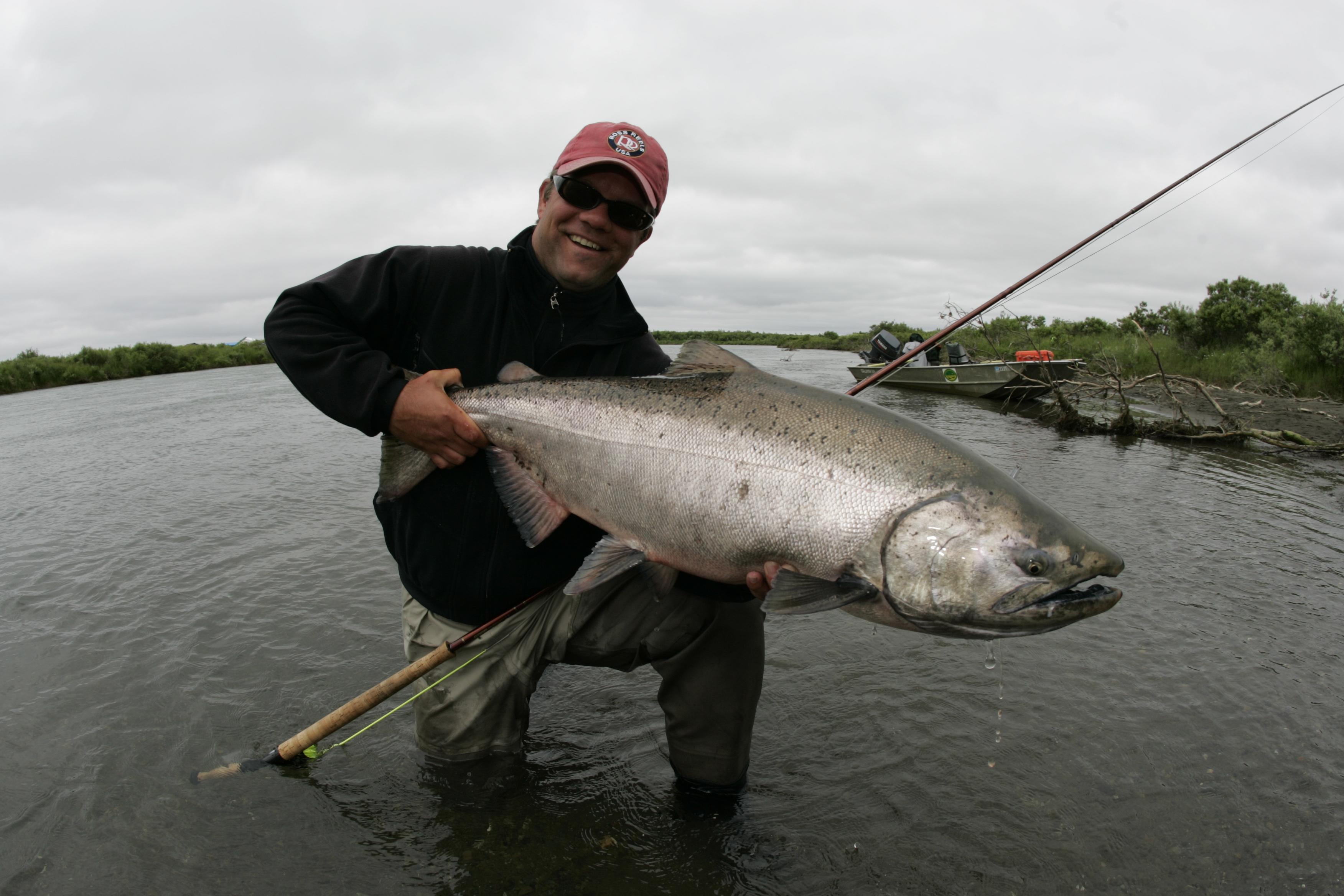 Alaska hopeful news for kanektok king salmon aardvark for King salmon fishing alaska