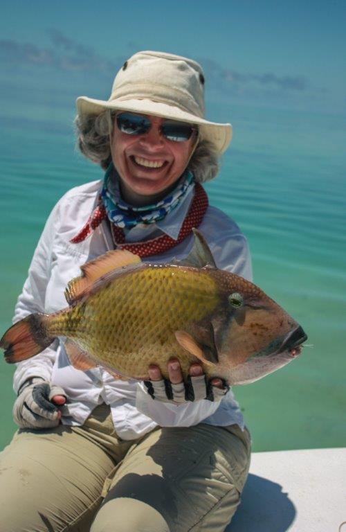Aardvark McLeod Alphonse Island Seycehlles Lianne's moustache triggerfish