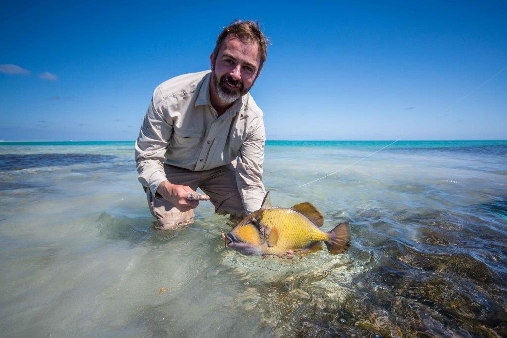 ardvark McLeod Alphonse Island Seychelles moustache triggerfish