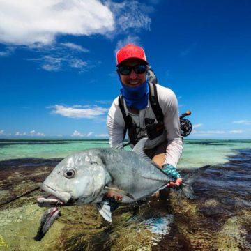 Farquhar atoll Seychelles fishing Aardvark McLeod