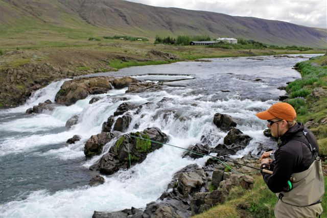 Iceland; Laxa I Kjos hosted sea trout adventure
