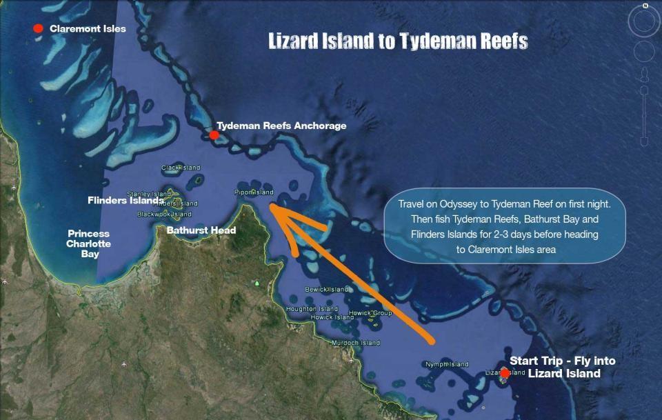 Tydeman Reef Australia, Coral sea, Lizard Island, Aardvark McLeod