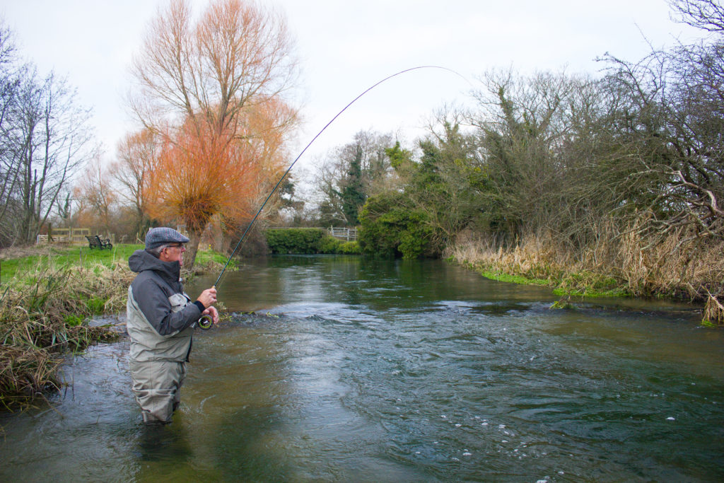 Grayling chalkstream fly fishing, River Frome Chalkstream fly fishing, Dry Fly Fishing, Alex Jardine, Aardvark McLeod Dry Fly Fishing