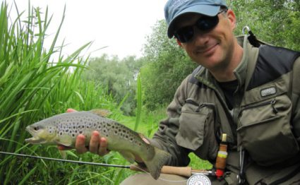 River Lambourn, brown trout, trout fishing, grayling, River Kennet, Chalkstream fishing, Aardvark McLeod