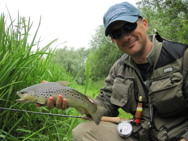 River Lambourn, brown trout, trout fishing, grayling, River Kennet, Chalkstream fishing, Aardvark McLeod