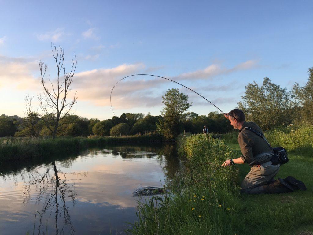 Compton Chamberlayne, River Nadder chalkstream fly fishing, Aardvark McLeod chalkstream fly fishing