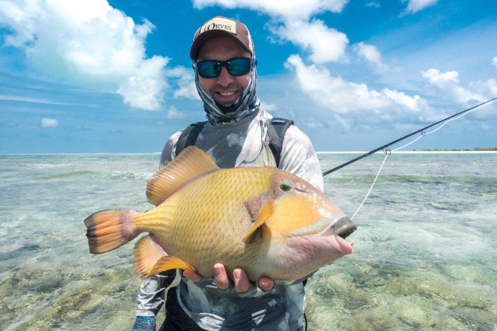 Alphonse Island Seychelles moustache trigger fish Aardvark McLeod