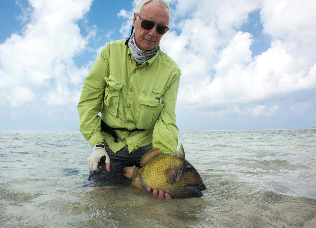 Alphonse Island Seychelles Aardvark McLeod moustache triggerfish