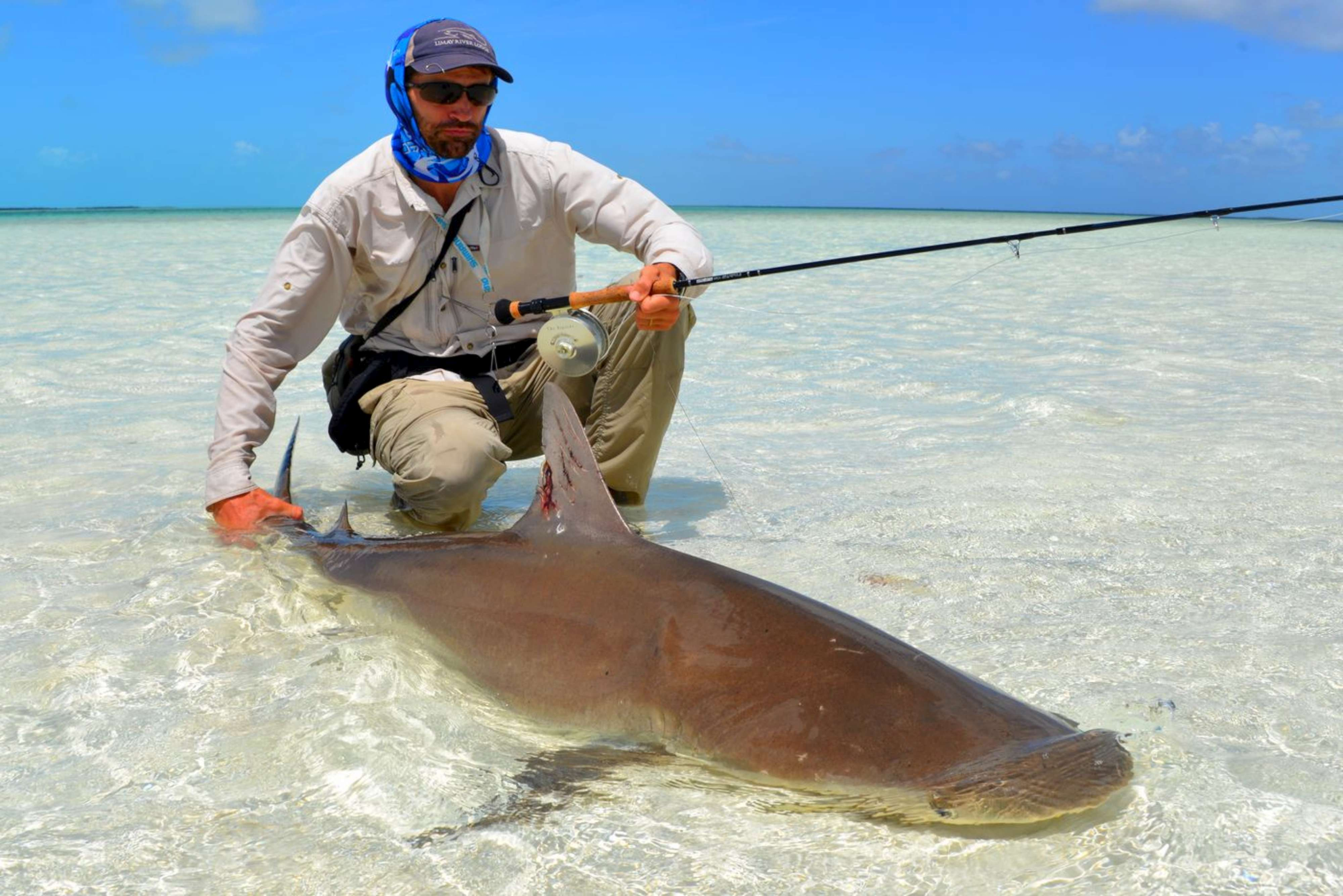 Bahamas latest report from crooked acklins island for Permit fly fishing