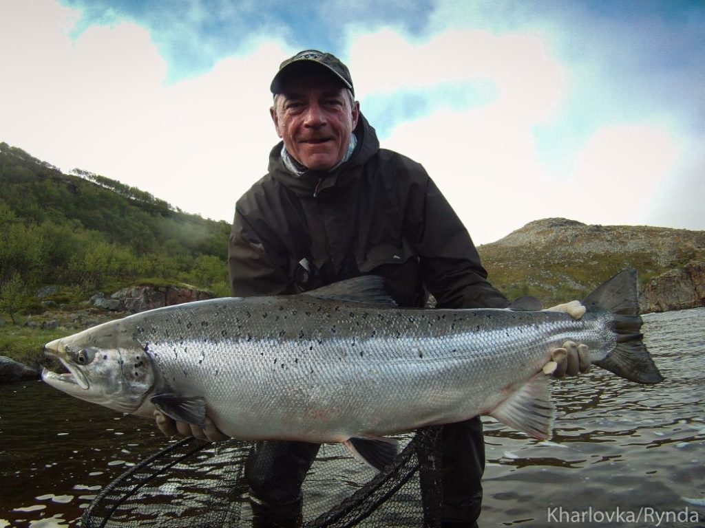 ASR FISHING, SALMON FISHING RUSSIA, ASR, KHARLOVKA, LITZA, RYNDA, MURMANSK, HUGE SALMON, ATLANTIC SALMON, FISHING REPORTS, SNELDA, AARDVARK MCLEOD, MIKAEL FRODIN