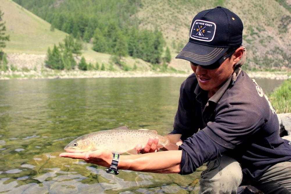 Taimen Fly Fishing Mongolia, fly Fishing Mongolia, Aardvark McLeod