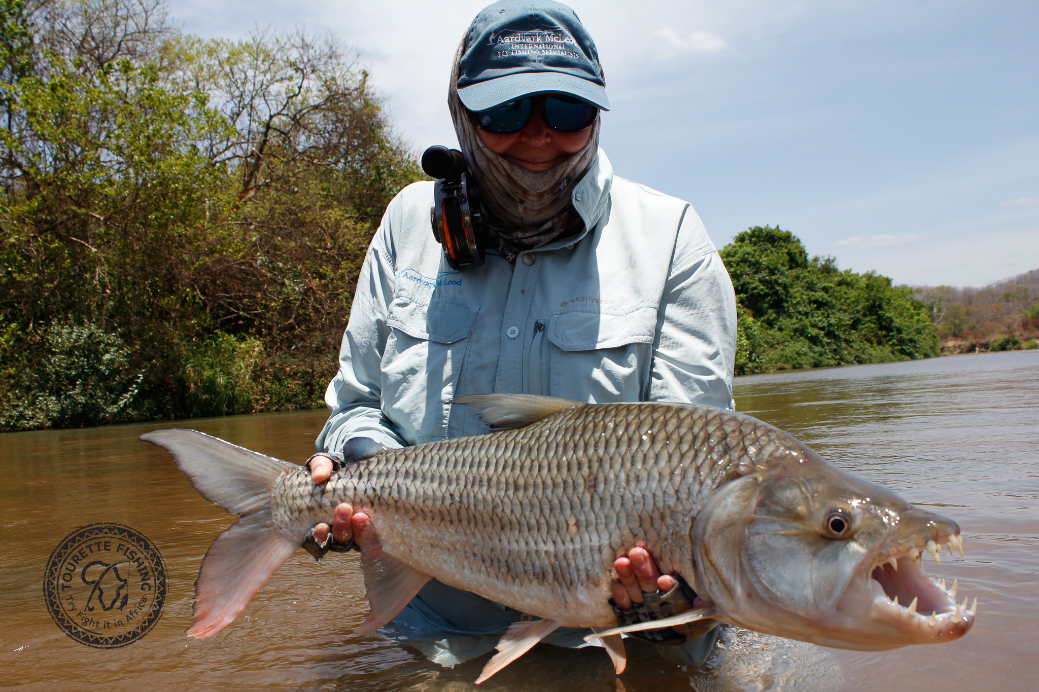 Tanzania, Tigerfish, Mynyera, Ruhudji, fly fishing for tigers, tigerfish on fly, fishing for tigerfish