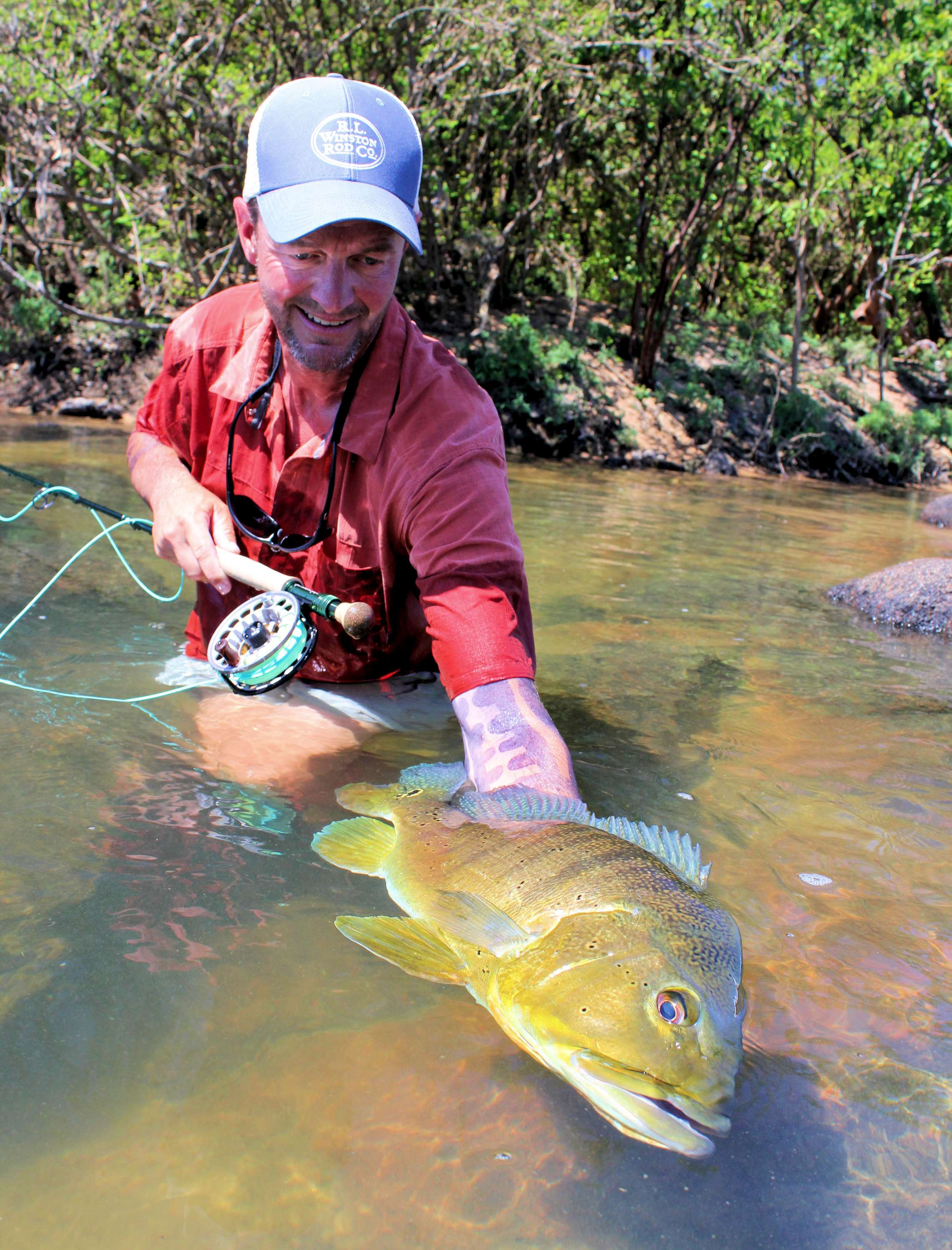Brazil kendjam trip report in images by jeff currier for Amazon fly fishing