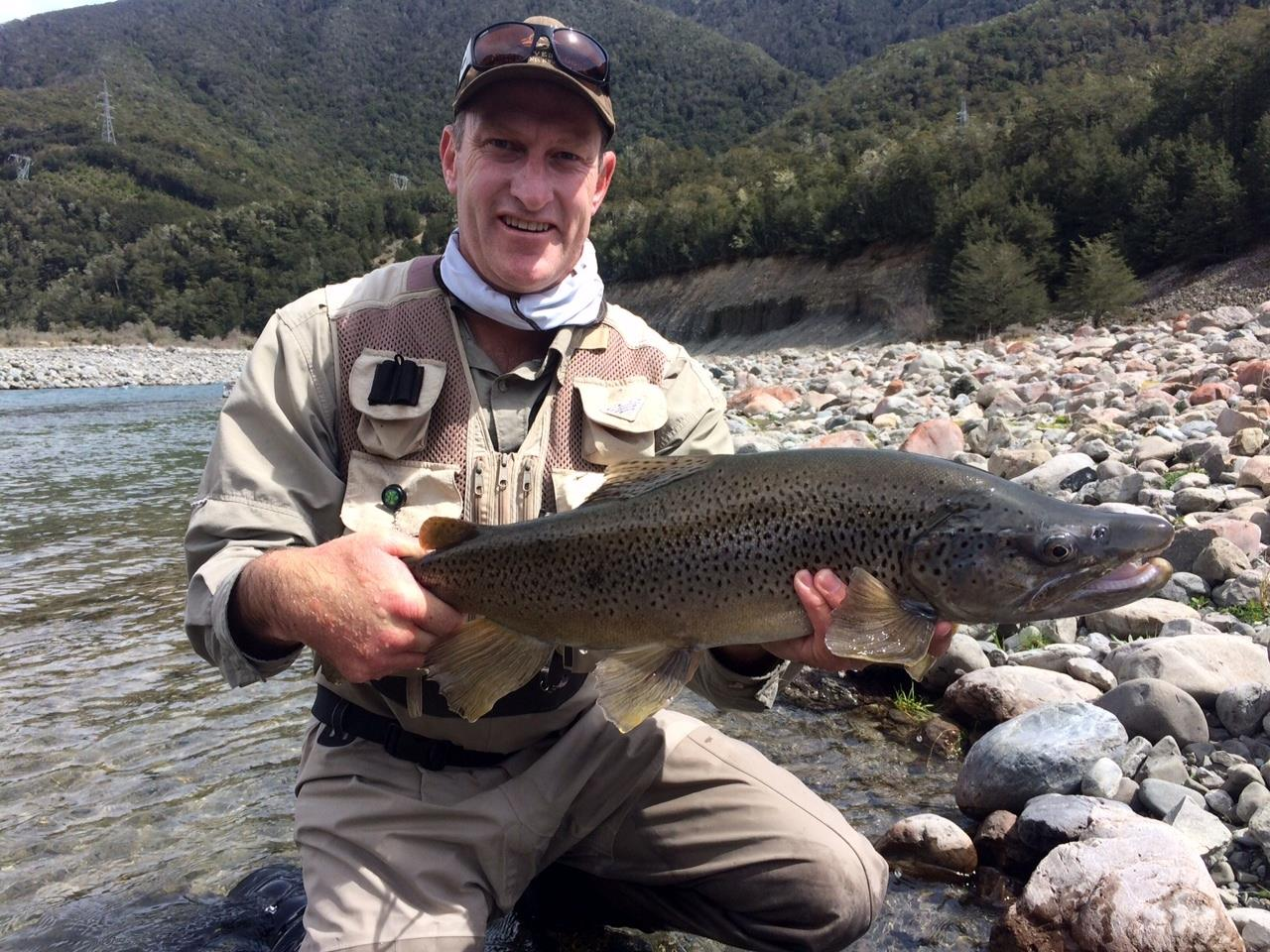 New zealand fantastic early season fishing at owen river for New zealand trout fishing