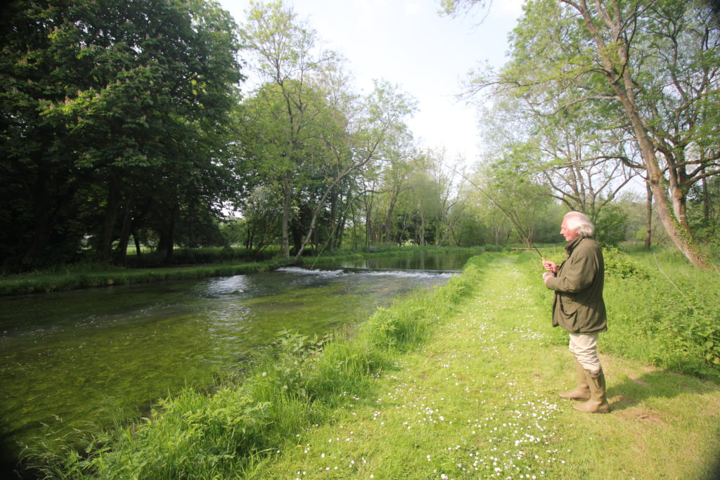 Mayfly Fishing River Test