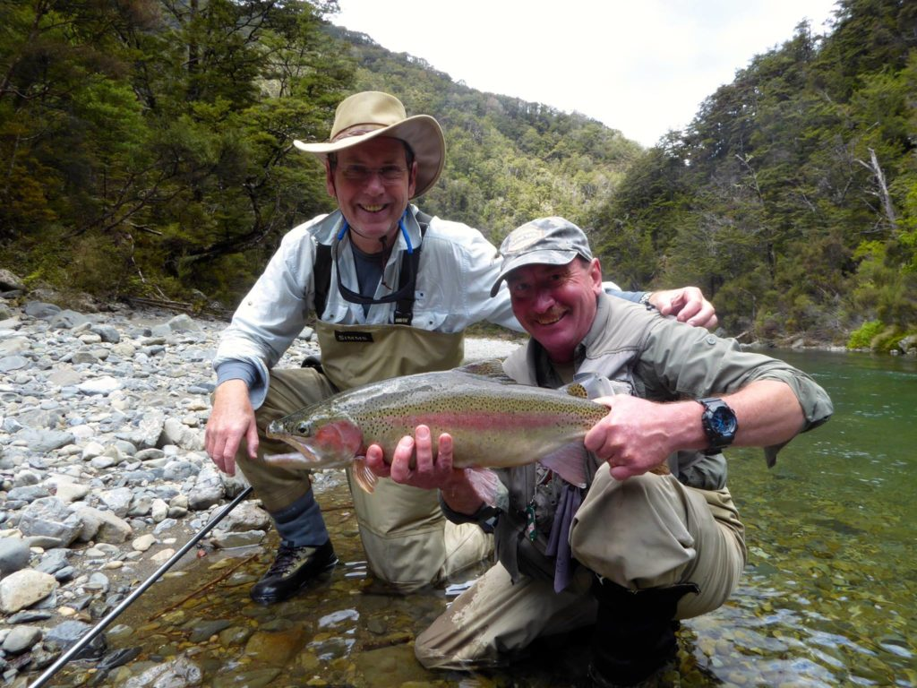 New Zealand, Tongariro Lodge, fly fishing