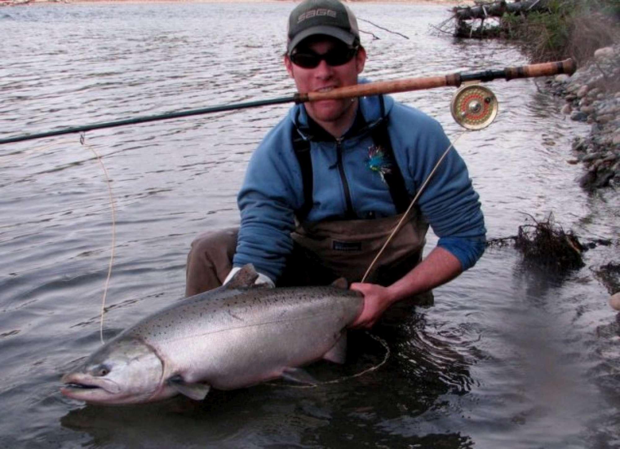 Canada king salmon chinook fishing in british columbia for Salmon fishing canada