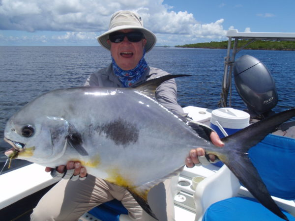 Belize permit Turneffe Flats Lodge flats fishing Aardvark McLeod