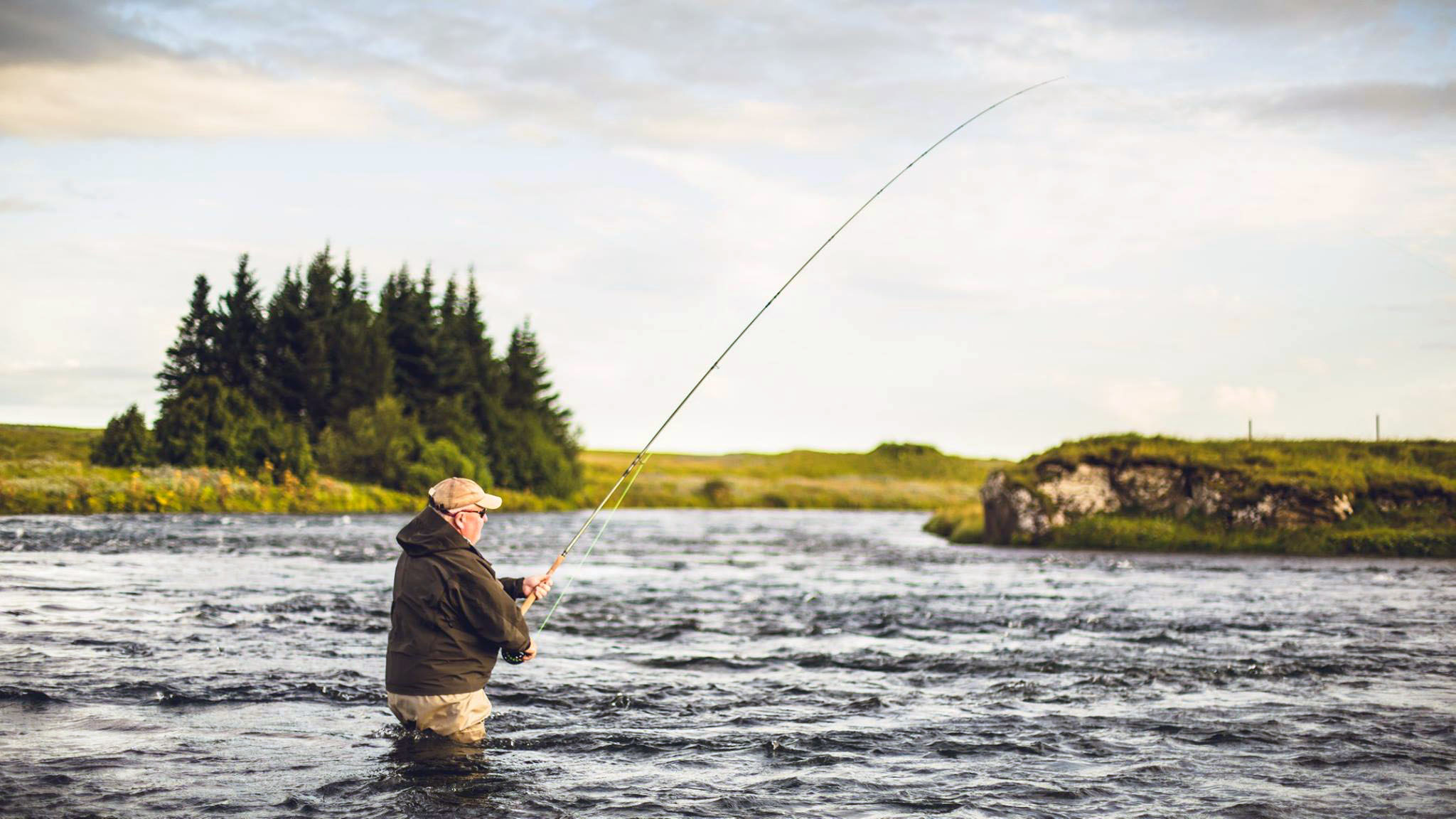 Iceland west rang great value late season salmon for Fishing in iceland