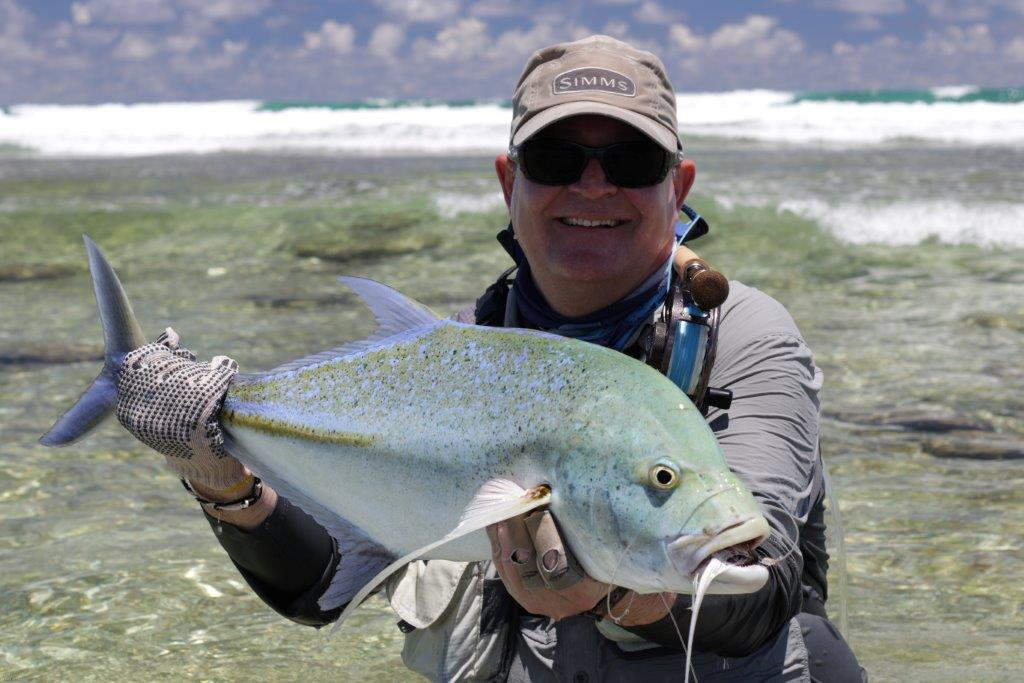 Astove Atoll Seychelles fishing Aardvark McLeod bluefin trevally
