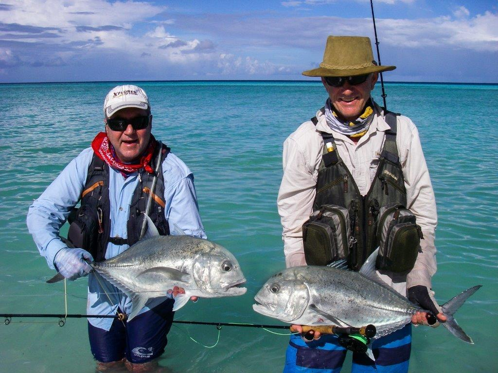 Seychelles cosmoledo report milks triggers dogs and for Seychelles fly fishing
