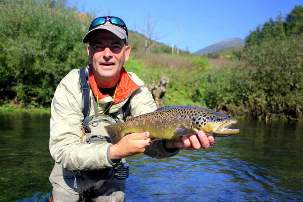 Bosnia, Fly Fishing, Brown Trout, dry fly fishing