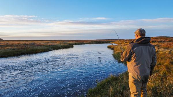 Deildara, Iceland, Salmon Fishing, Aardvark McLeod
