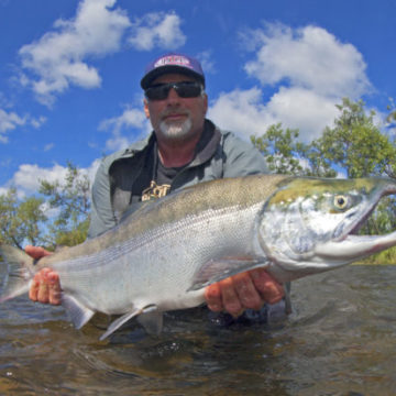 Alaska Trophy Advenute Lodge, ATA Lodge, Aardvark McLeod, king salmon, pacific salmon, dolly varden, graying, trout, char