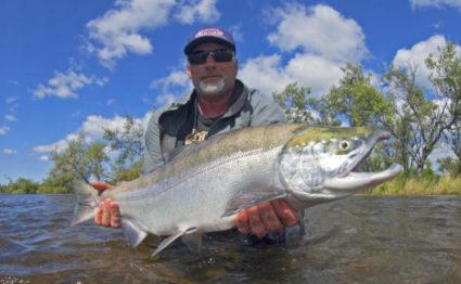 Alaska Trophy Advenute Lodge, ATA Lodge, Aardvark McLeod, king salmon, pacific salmon, dolly varden, graying, trout, char