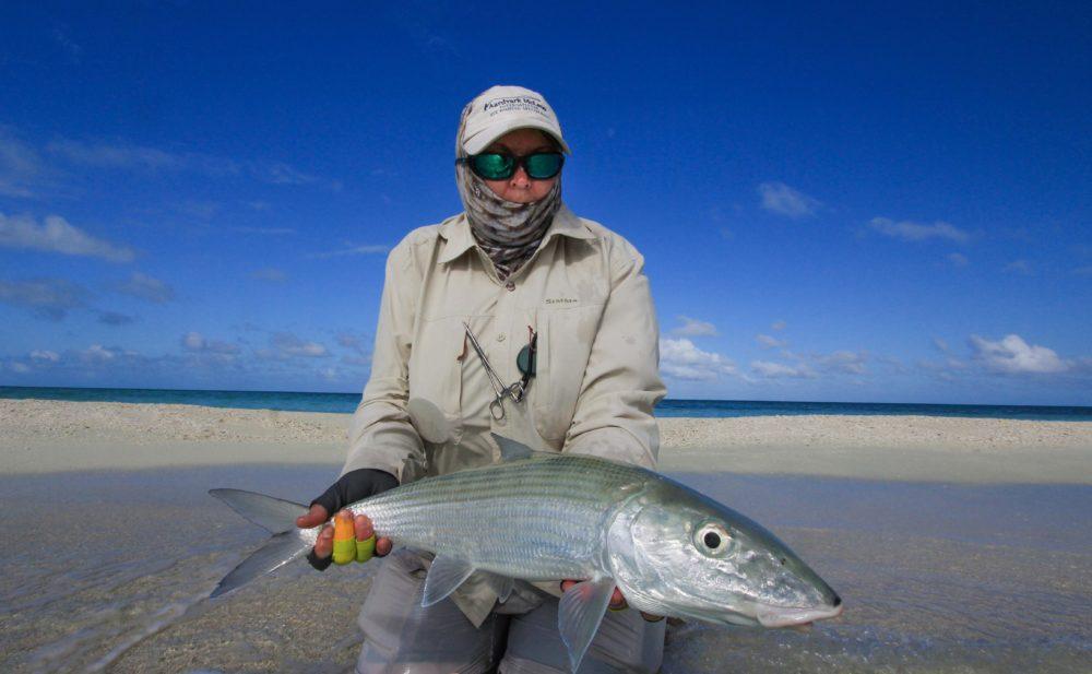 Charlotte Chilcott, St Brandons, Bonefish, Mauritius, Indian Ocean