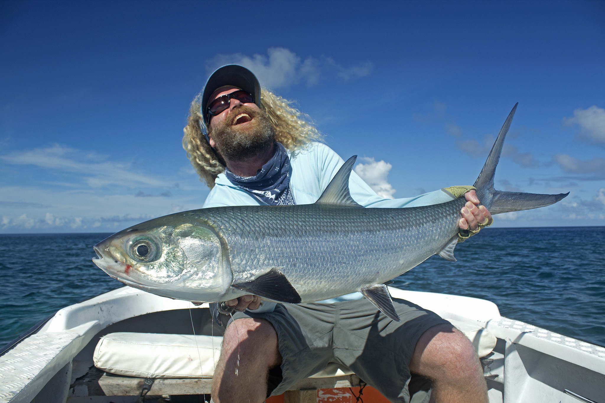 Seychelles providence atoll 4 11 april fishing report for Whitakers fishing report