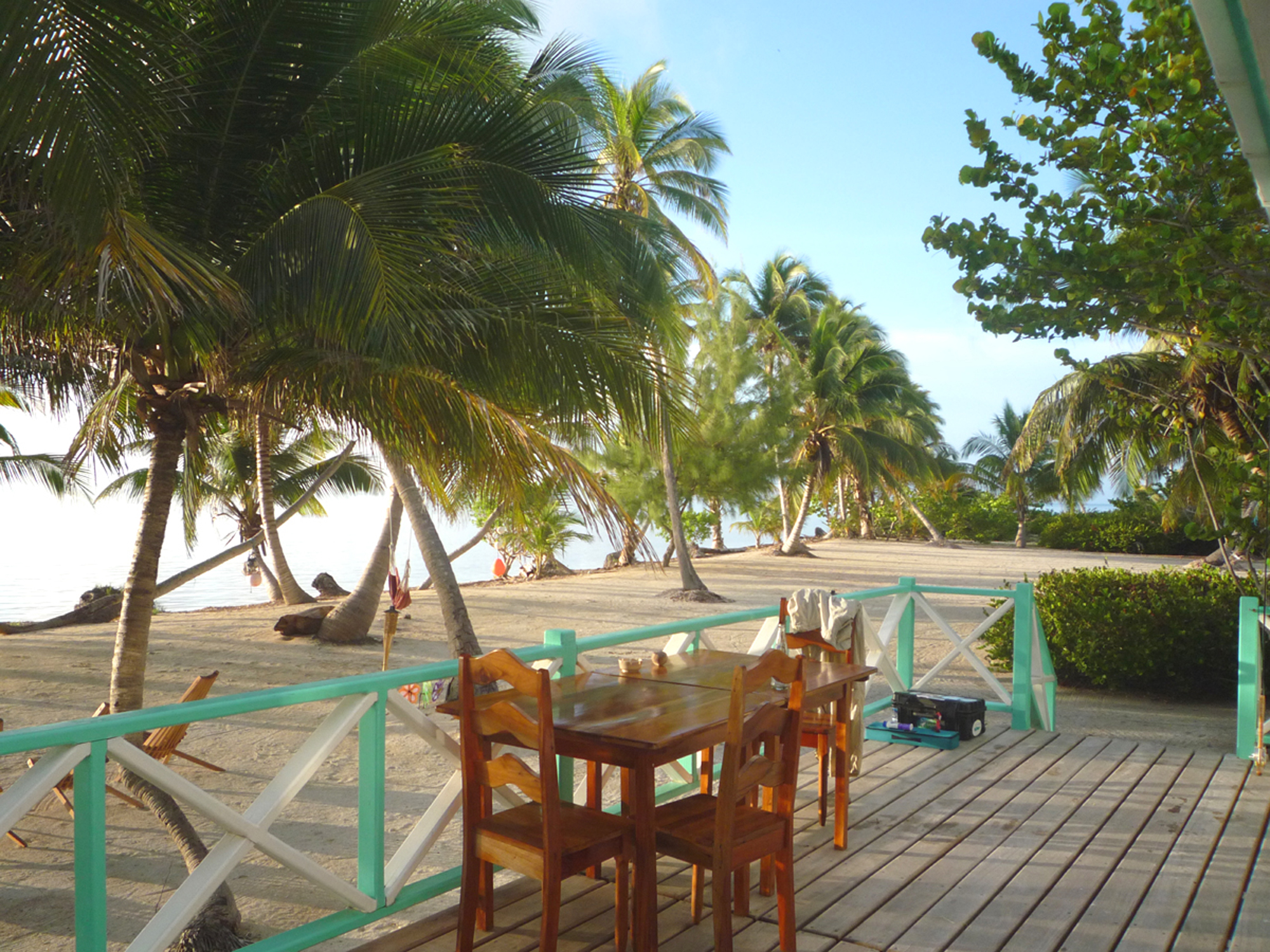 Belize River Lodge, Long Caye Outpost, Belize, Aardvark McLeod
