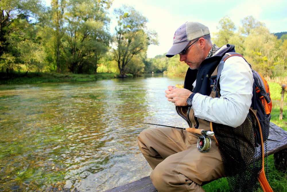 Bosnia, Ribnik, trout fishing,